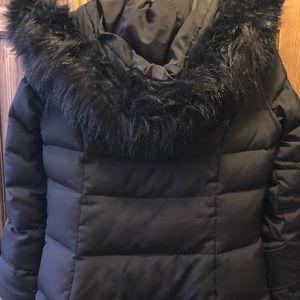Calvin Klein parka with hood